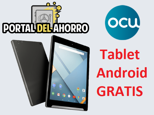 OCU Inversiones Promo 2019 – Tablet Android 8″ por 0€