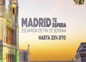 Escapada de fin de semana a Madrid con 32% de descuento
